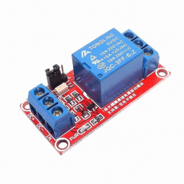 12V 1 Channel Red Color Relay Module