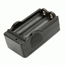 18650 Battery Charger (US Standard) Black