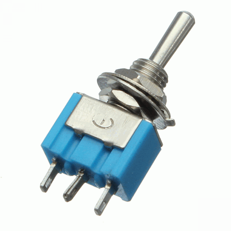 3-Pin Mini Toggle Switches SPDT