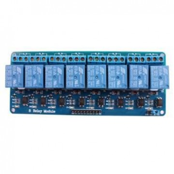 5V 8-Channel Relay interface board