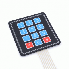 3×4  flexible keypad