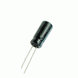 100uF 16V Radial Electrolytic Capacitor