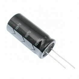 2,200uF 16V Radial Electrolytic Capacitor