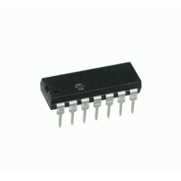 PIC-16F676 14-pin Flash 1kbyte 4MHz Microcontroller