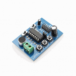 ISD1820 voice recording and playback module