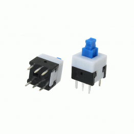6 Pin Push Button Switch Self Lock
