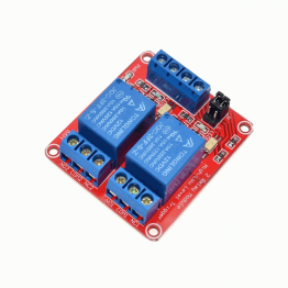 5V 2 Channel Red Color Relay Module