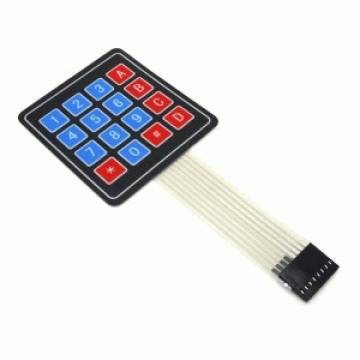 Matrix Keypad 4×4 – Flexible